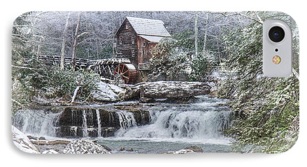 A Gristmill Christmas IPhone Case