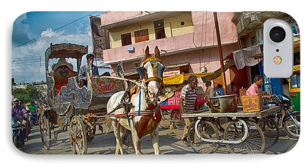 A Horse-drawn Cart Of A Different Color 2 IPhone Case