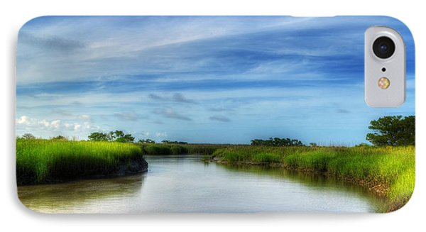 A Marsh At Jekyll Island IPhone Case