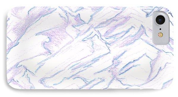 A Piece Of The Alaskan Range IPhone Case