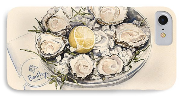 A Plate Of Oysters IPhone Case