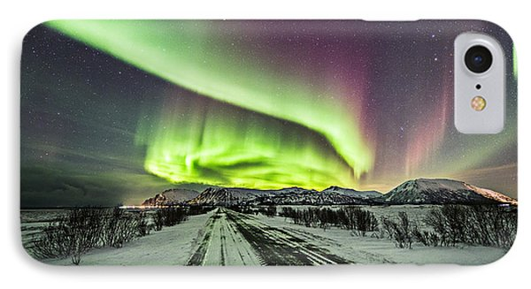 A Road View IPhone Case