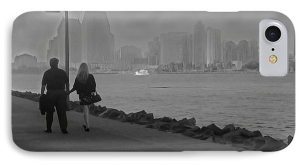 A Romantic Walk 2 IPhone Case