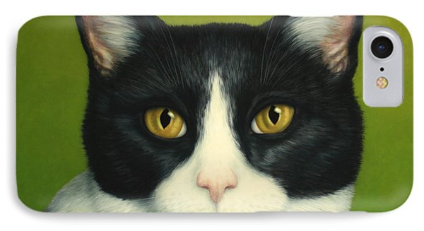 A Serious Cat IPhone Case