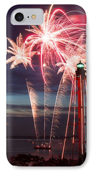 A Three Burst Salvo Of Fire For The Fourth Of July IPhone Case