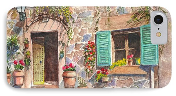 A Townhouse In Majorca Spain IPhone Case