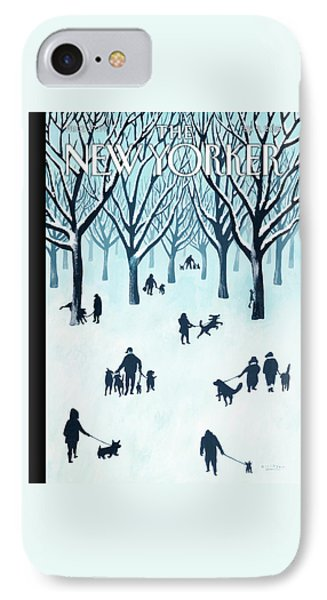 A Walk In The Snow IPhone Case