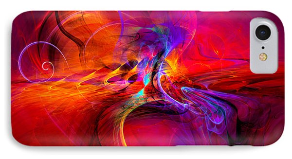 Peace Of Mind - Meditation Art Prints IPhone Case