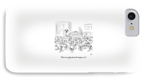 A Wife Surrounded By Beagles Addresses IPhone Case