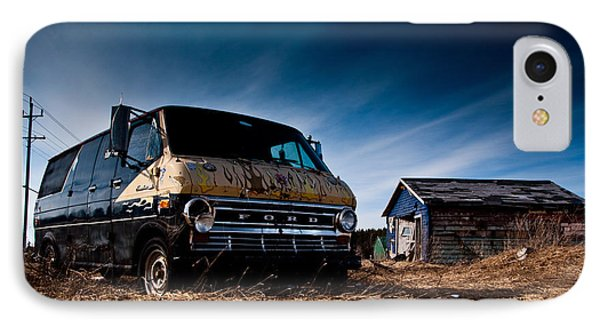 Abandoned Ford Van IPhone Case