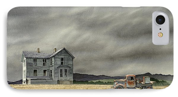 Truck iPhone 8 Case - Abandoned   by Paul Krapf
