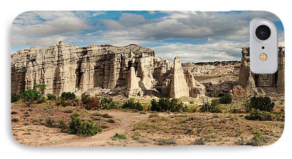 Abiquiu New Mexico Plaza Blanca In Technicolor IPhone Case