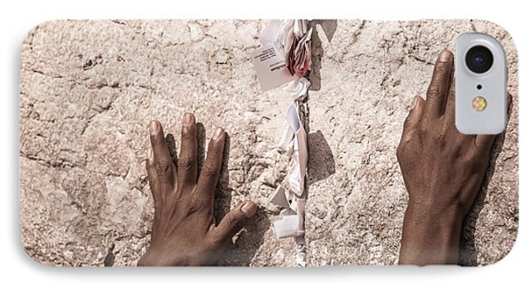 About The Western Wall IPhone Case