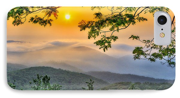 Above The Clouds - Blue Ridge Parkway IPhone Case