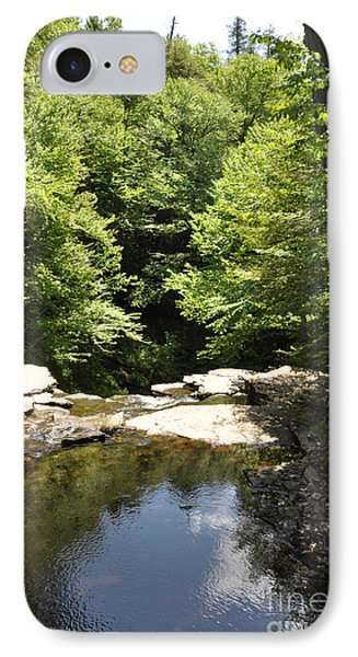 Above The Falls IPhone Case