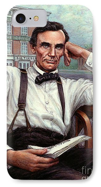 Abraham Lincoln Of Springfield Bicentennial Portrait IPhone Case