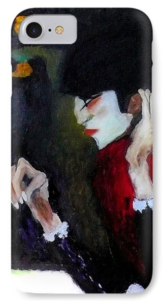Absinthe Drinker After Picasso IPhone Case