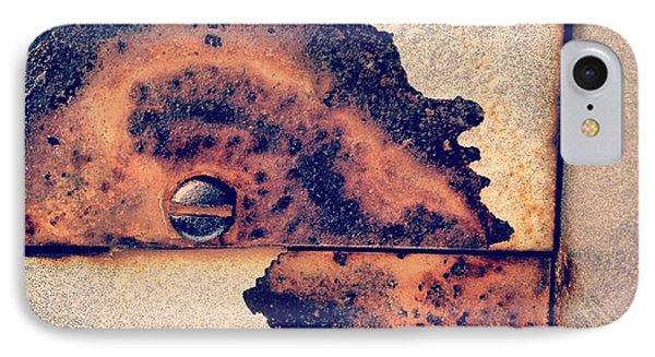 Absract Rust IPhone Case