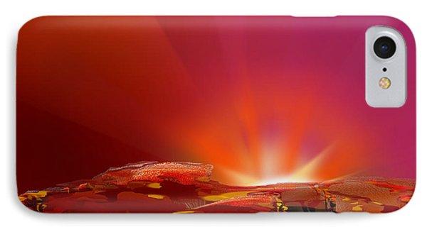 Abstract - Alien Sunrise IPhone Case