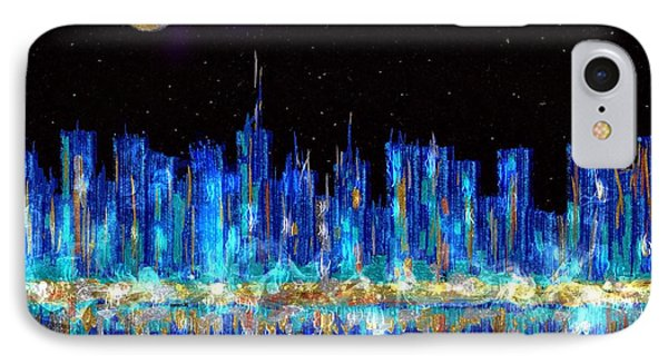 Abstract City Skyline IPhone Case