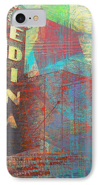 Abstract Edina IPhone Case