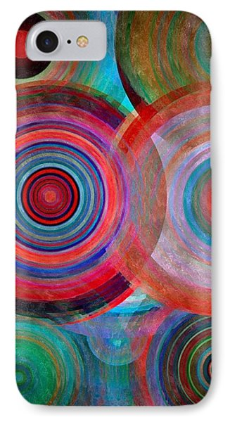 Abstract In Silk  IPhone Case