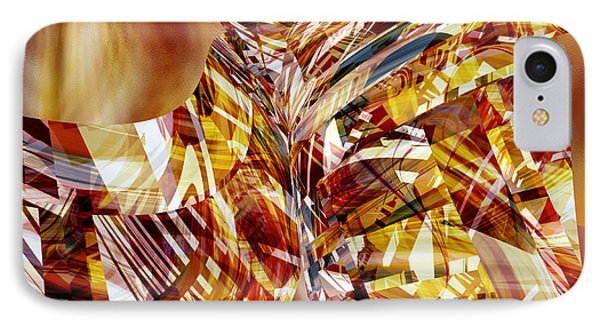 Kimono Silk -  Abstract Art IPhone Case