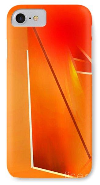 Abstract Orange IPhone Case