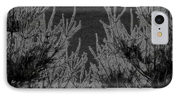 Abstract Pine Trees IPhone Case
