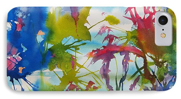 Abstract -  Primordial Life IPhone Case