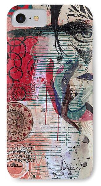 Abstract Tarot Card 008 IPhone Case