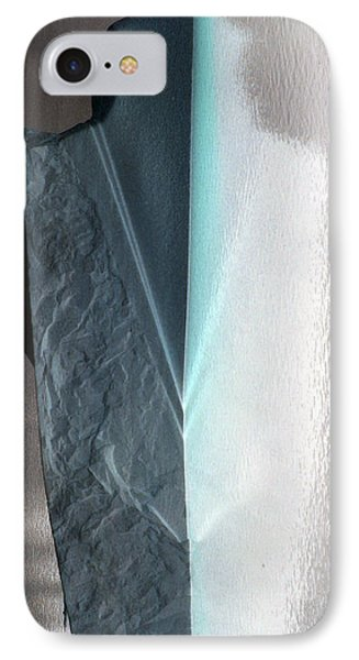 Abstract Teal  IPhone Case