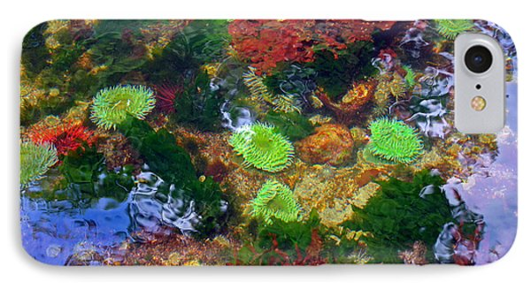 Abstract Tidal Pool IPhone Case