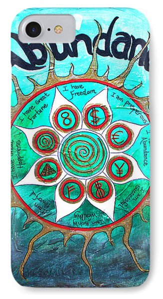 Abundance Money Magnet - Healing Art IPhone Case