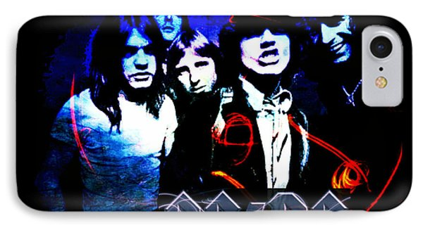 Ac/dc - Rock IPhone Case