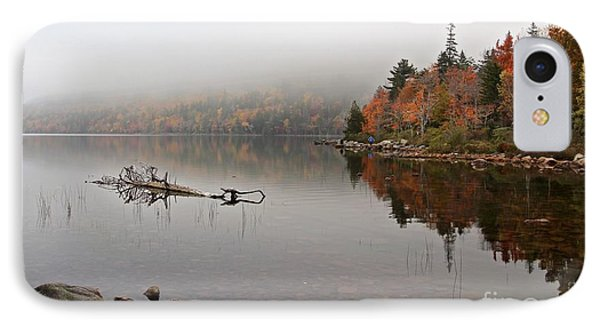 Acadia In The Fog IPhone Case
