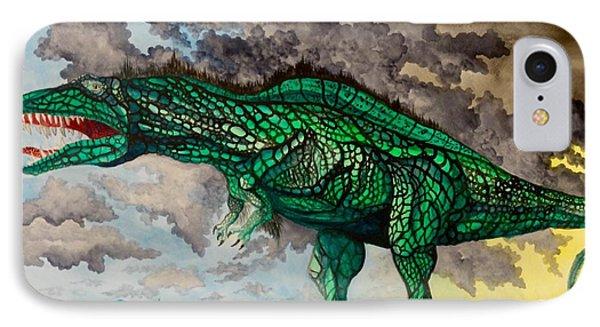 Acrocanthosaurus IPhone Case