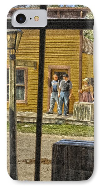 Across The Street IPhone Case