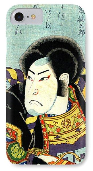 Actor Arashi Kichisaburo 1818 IPhone Case