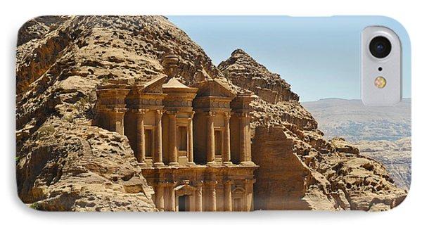 Ad Deir In Petra IPhone Case