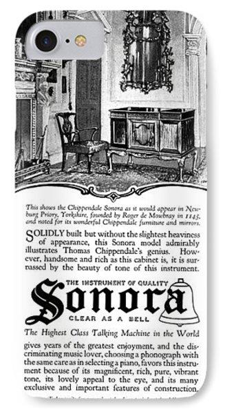 Ad Sonora, 1919 IPhone Case