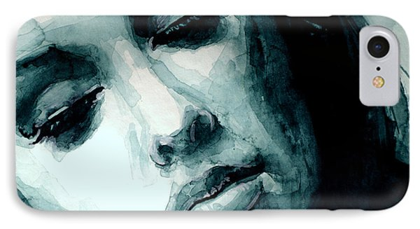 Adele In Watercolor IPhone Case