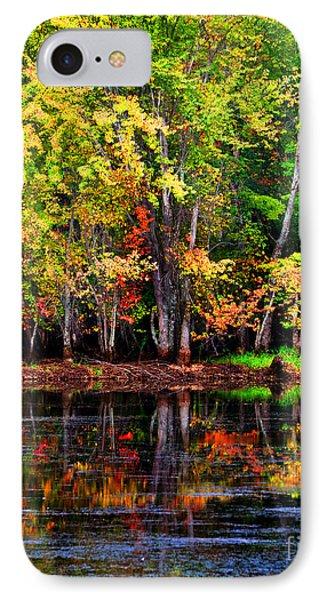Adirondack Reflections IPhone Case