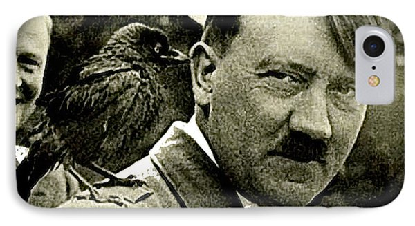 Adolf Hitler And A Feathered Friend C.1941-2008 IPhone Case