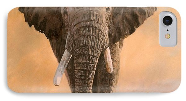 African Elephants IPhone Case