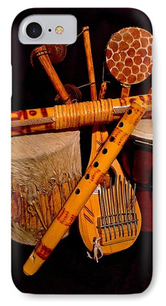 African Musical Instruments IPhone Case