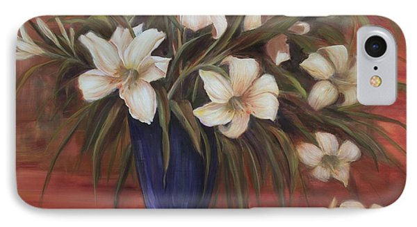 After Noon Lilies IPhone Case