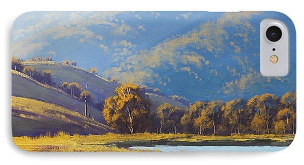 Afternnon Light Lithgow IPhone Case