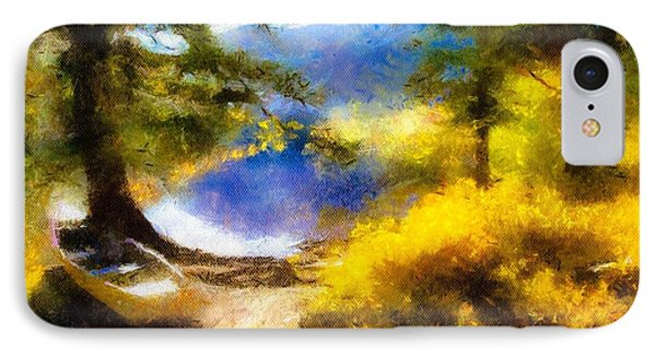 Afternoon On The Lake IPhone Case
