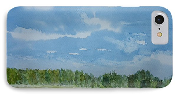 Afternoon Sky IPhone Case
